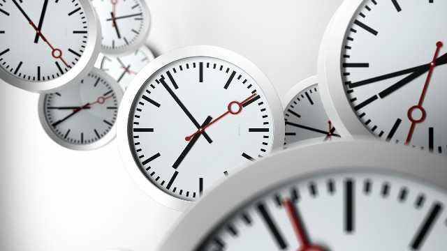 stress of time-many clocks