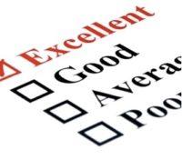 rating checklist