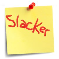 note for slackers